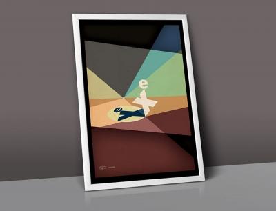 Monkeypuzzle design Australia-poster-eventex